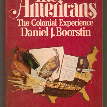 1958 - The Americans - The Colonial Experience - Books