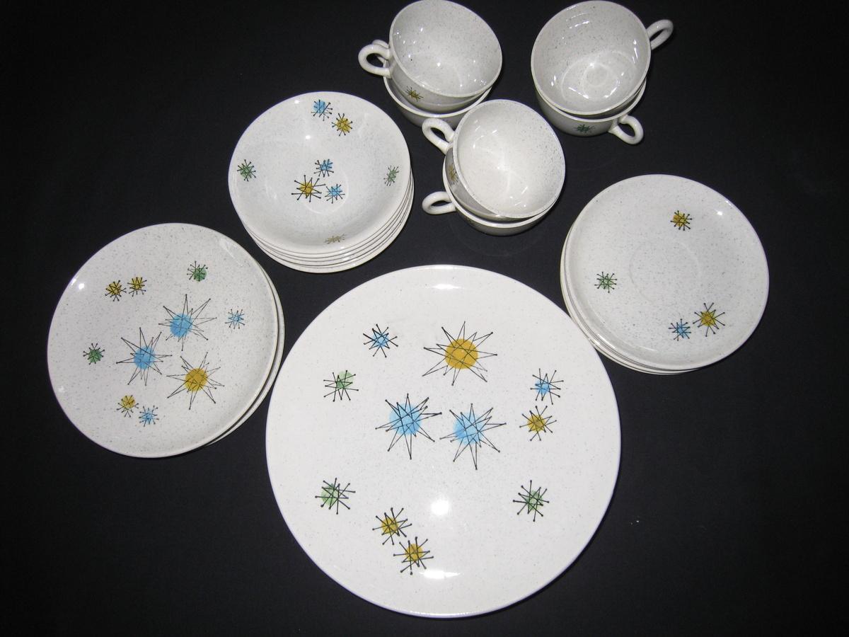 Vintage Franciscan Starburst Dinnerware Collectors Weekly