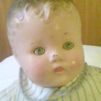 "17"" Composition Boy Doll"