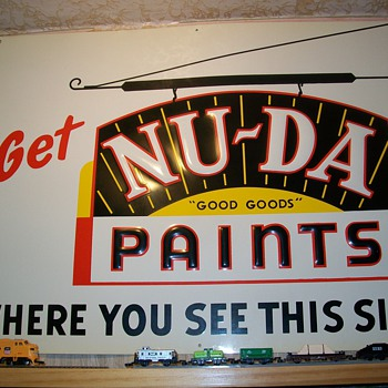 Nu-da paint sign - Signs