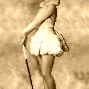 Follies girl 1920s  - Photographs