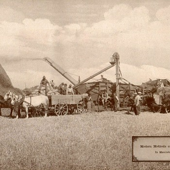 Farm Machinery in Canada - circa 1917
