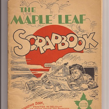 The Maple Leaf Scrapbook - Military and Wartime
