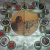 SILK SOUVENIR FROM EGYPT.WORLD WAR 1 MEMORABILIA