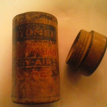 Wooden mail tube