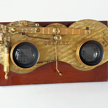 Prosch Stereo Triplex Shutter, 1880s (the beauty of early camera shutters #2) - Cameras