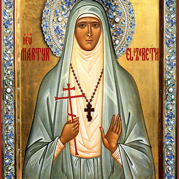 Icon of St. Grand Duchess Elizabeth. - Visual Art