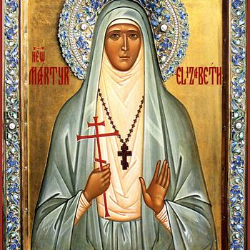 Icon of St. Grand Duchess Elizabeth. - Visual Art