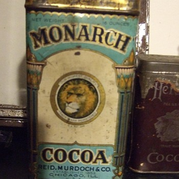 Monarch Cocoa Tin
