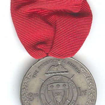 The Brule, Wisconsin Presidential Guard Medal - Military and Wartime