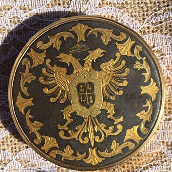 Double headed eagle crest, Compact  - Accessories