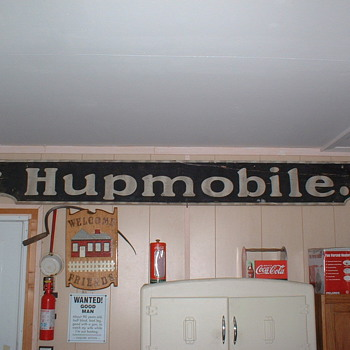 Hupmobile Dealer sign