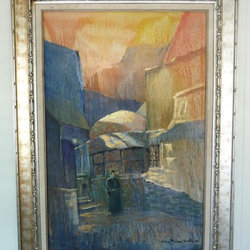 "John Plumer Ludlum ""Master of Light 1906-1993 oil painting"