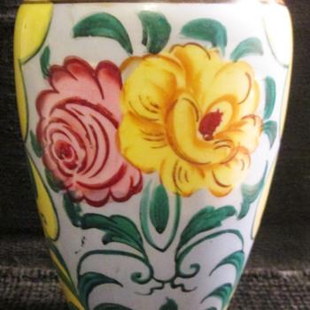Japanese vase, lusterware?