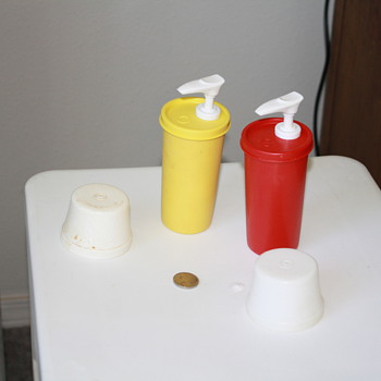 mustard 1329-9  and ketchup dispensers 1329-8