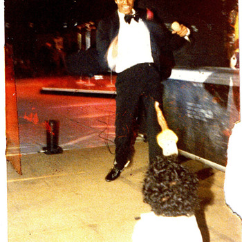 Michael Jackson LIVE 1979 Off the Wall Performance Photo
