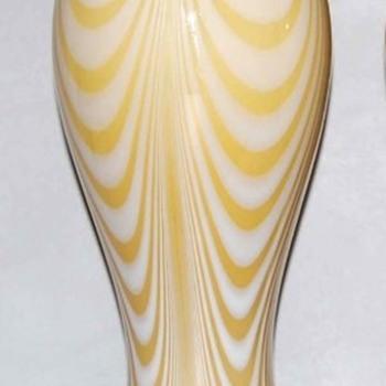 IMPERIAL GLASS LEAD LUSTRE, DECOR 36 (1) - Art Glass