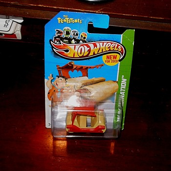 Hot Wheels The Flintstones Flintmobile