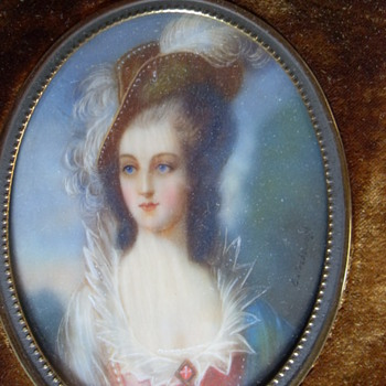 18th CENTURY MINIATURE PORTRAIT
