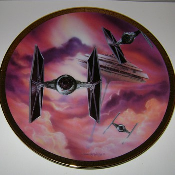 Star Wars Collectable Plate