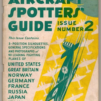 1942 - Aircraft Spotters' Guide