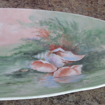 Limoges Sea Shell Dish