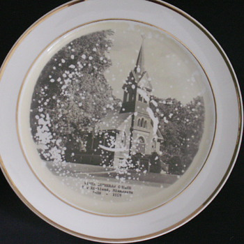 Church Plate, New Richland, Minnesota - China and Dinnerware