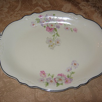 Homer Laughlin Virginia Rose Platter - China and Dinnerware