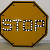 My Holy Grail - The Griswold Stop Sign with Reflective Marbles