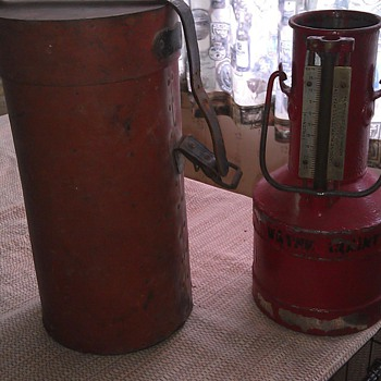 RARE!!! 1 gal. Gasoline pump testing measure!! Seraphin Mfg. Co. Phila,Pa. - Petroliana