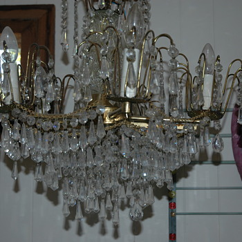 Old Chandelier that I found in an estate sale