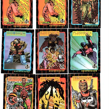D C COMIC BOOKS CARDS - Comic Books
