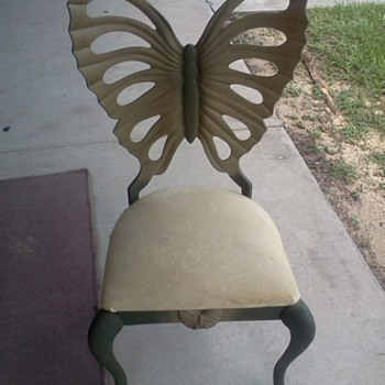 Beautiful Butterfly Shaped Chair