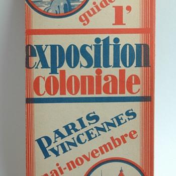vêtements A.DONY STRASBOURG plan de l'exposition coloniale de paris en 1931
