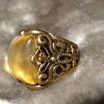 Large unusual ring