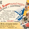Road Map Advertising Postcard