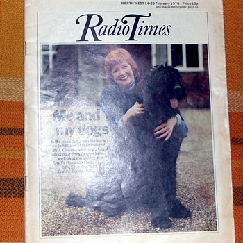 1976-bbc-tv/radio programmes guide-weekly issue-'radio times'. - Paper