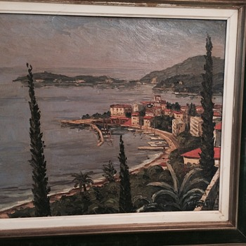 HELP IDENTIFY! Oil Painting French Impressionism - Visual Art