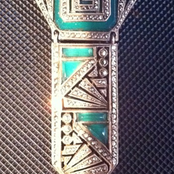 Art Deco Pin - Fine Jewelry