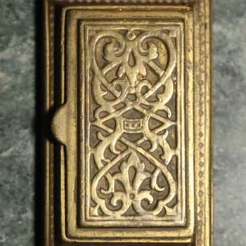 Gilded Bronze Ink thing? - Victorian Era