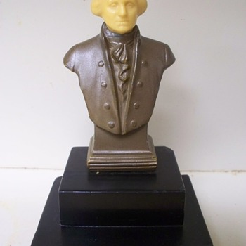 President George Washington Bust / Sculpure by J. Ruhl - Visual Art