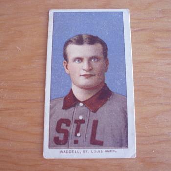 RUBE WADDELL 1909-1911 T206 BASEBALL TOBACCO CARD