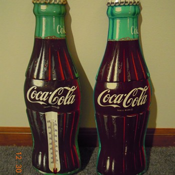 50's-60's Bottle Signs