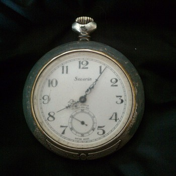 17 Jewel Pocket Watch