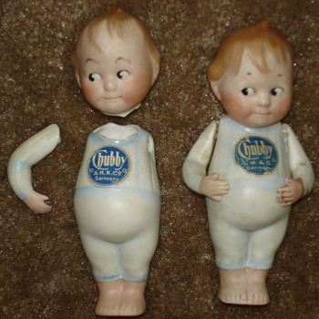 Rare Louis Wolf Chubby Bisque Germany Dolls German - Dolls