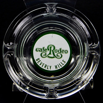 Rodeo Cafe Beverly Hills Ashtray - Tobacciana