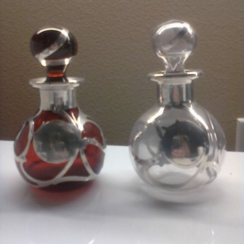 Antique Perfume Bottles - Bottles