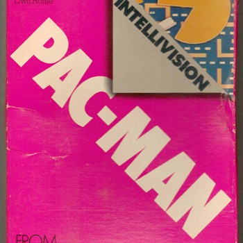 "1983 - ""PAC-MAN"" Video Game Cartridge - Games"