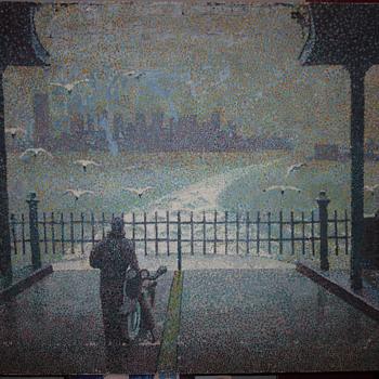 Pointillist Painting - Visual Art