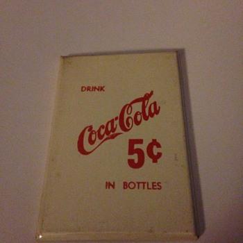 Coca-Cola Pocket Mirror - Coca-Cola
